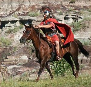 Roman-Soldier-Horse350