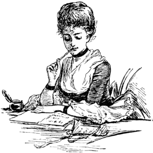 woman-writer